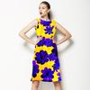 Blu Flowers (Dress)