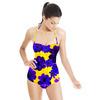 Blu Flowers (Swimsuit)