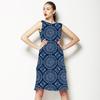 Indigo Mandala (Dress)