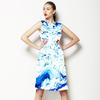 Marbling Paper Pattern (Dress)