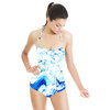 Marbling Paper Pattern (Swimsuit)