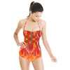 Abstract Flower Cuts (Swimsuit)