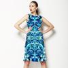 Blu Floral (Dress)