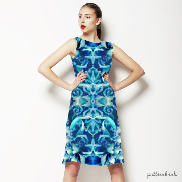 Blu Floral