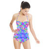 Hibiscus Abstract Pattern (Swimsuit)