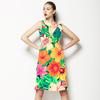 Tropical Floral Digital Print (Dress)