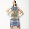 Digital Mosaic Kaleidoscopic (Dress)