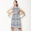 Mosaic Pastel Geometric (Dress)