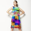 Multicolored Graphic Pattern (Dress)