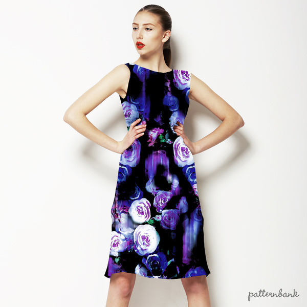 Thrilling Florals No2 NON Repeat Pattern