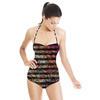Paisley Stripe (Swimsuit)