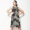 Flower Stripes (Dress)