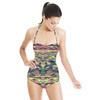 Multicolour Texture (Swimsuit)