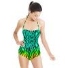 Bright Zebra (Swimsuit)