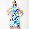 Floral Blue (Dress)