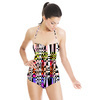 Abstract Checkered (Swimsuit)