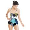 580 Geo Camo Stripes Print (Swimsuit)