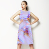 Abstract Floral Net (Dress)