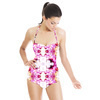 Pink Flower (Swimsuit)