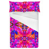 Tropical Floral and Plants No5 Repeat Tropical Floral Pattern by Dawid Roc (Bed)