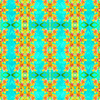Tropical Floral and Plants No8 Repeat Tropical Floral Pattern by Dawid Roc (Original)