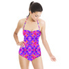 Tropical Floral and Plants No7 Repeat Tropical Floral Pattern by Dawid Roc (Swimsuit)