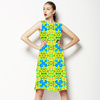 Tropical Floral and Plants No6 Repeat Tropical Floral Pattern (Dress)