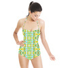 My Impression No9 Abstract Pattern Design by Dawid Roc (Swimsuit)