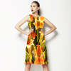 577 Tropical Cacti Print (Dress)
