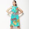 Animal Scarf Print (Dress)