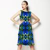 Blue Floral (Dress)