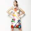 Bold Graphic Floral (Dress)