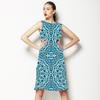 Indigo Tiles (Dress)