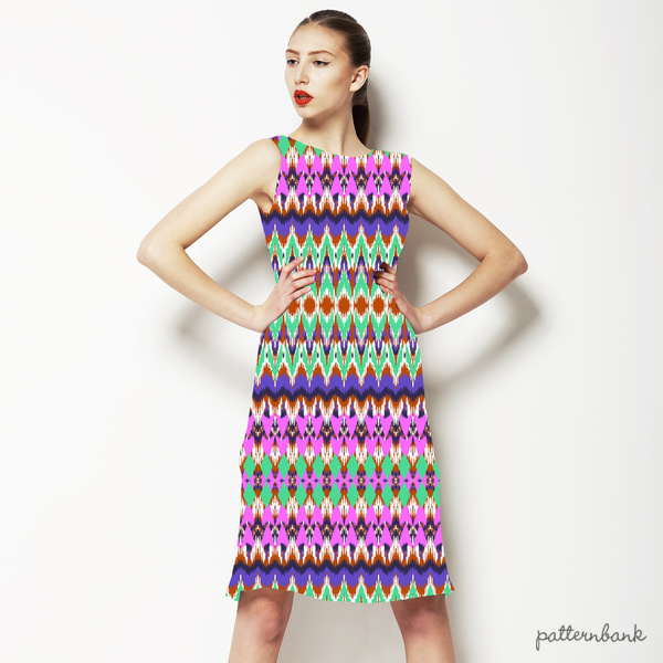 Tribal Ikat Stripe