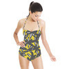 Graphic Fall Floral (Swimsuit)