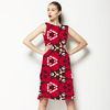 Mexican Ethnic Abstract Colorful (Dress)