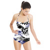 571 Ink Waves Print (Swimsuit)