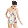 Bird Floral Print (Swimsuit)