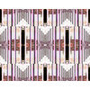 Fairytale Lockdown Palefully and Peacefully Modernist Art Deco Bauhaus 30s Shapes (Original)