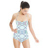 Moroccan Print Textiles (Swimsuit)