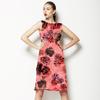 564 Rose Black Print (Dress)