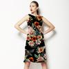Vintage Rose Garden Floral (Dress)