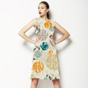 Forest Ferns Abstract Circles (Dress)