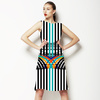 Striped Geo Funk (Dress)