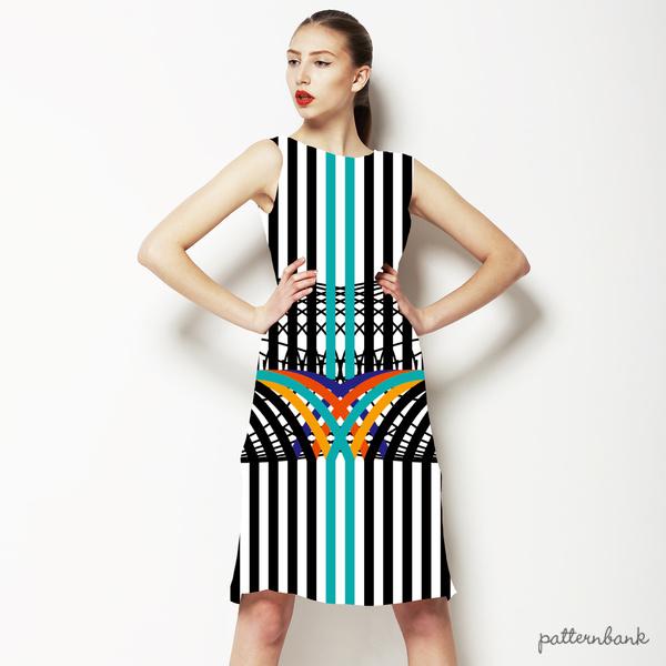 Striped Geo Funk
