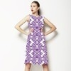 Mix Medallion Pattern Print for Womenswear, Home Textile in Repeat. Medallion 3DDS05. (Dress)