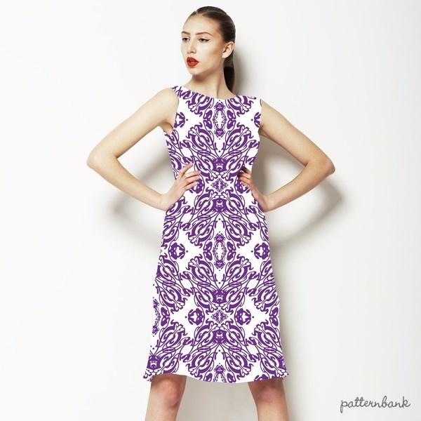 Mix Medallion Pattern Print for Womenswear, Home Textile in Repeat. Medallion 3DDS05.