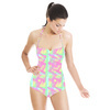 Abstract Gingham (Swimsuit)