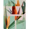 556 Tropic Plant Collage (Original)
