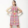 Pastel Integrates Splattered Columns (Dress)